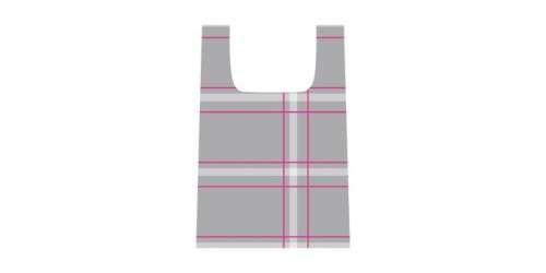TESCOMA Nákupní taška, šedo-růžová