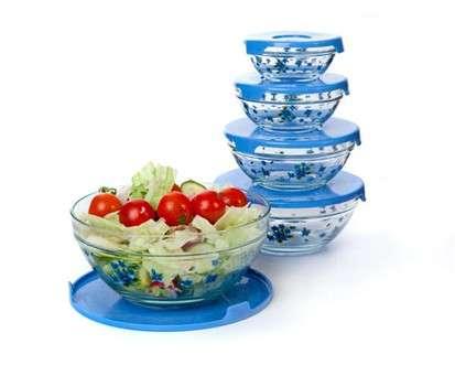 Banquet, 5dílná sada misek, modrá