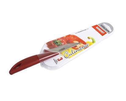 Banquet, Praktický nůž 9cm Red Culinaria